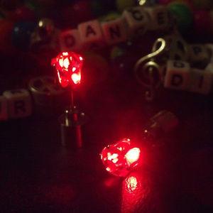 Light Up Earrings - Rave Fashion - LED Party PLUR